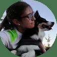 Alumnas de clases de adiestramiento canino