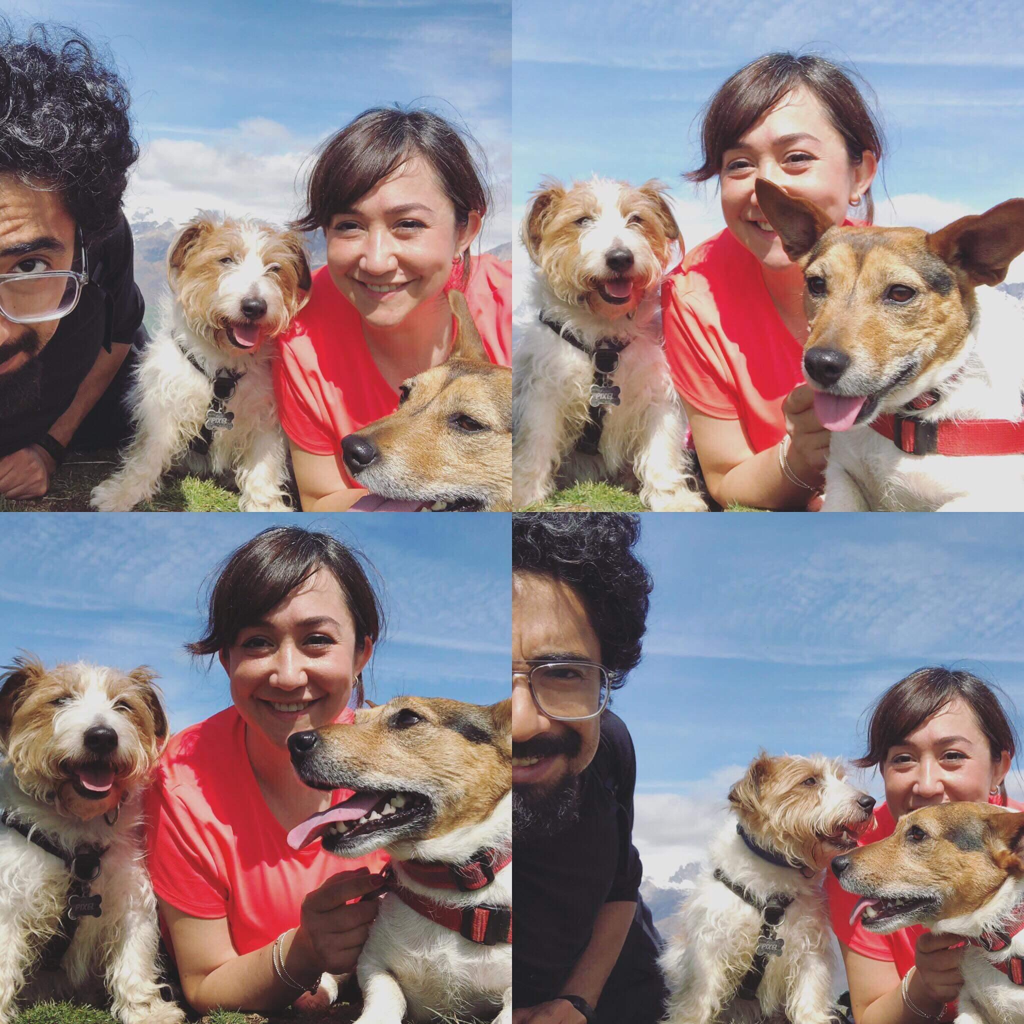 Alumnos de curso de educador canino