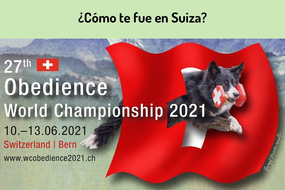 Mundial de Obediencia en Suiza